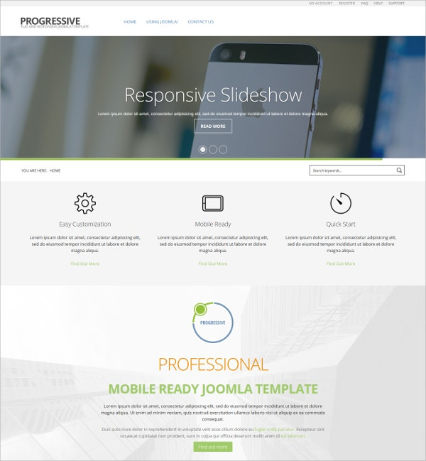 Business & Corporate Joomla Template $39