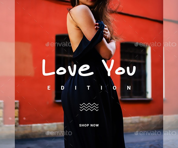 instagram fashion banner template design