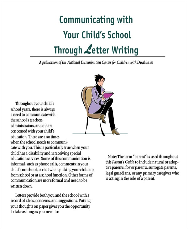 communicating with your child%e2%80%99s school through letter writing