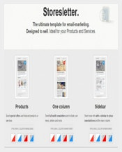 Storesletter HTML Email Marketing Template