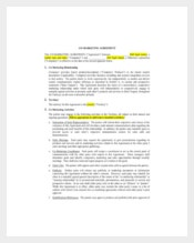 CO – Marketing Agreement Template