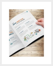 Bifold Marketing Brochure Indesign