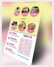 Bakery Marketing Flyer Sample Template