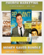 Example Church Marketing Flyer Template