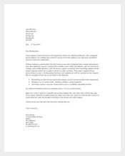 Example Marketing Manager Cover Letter Template