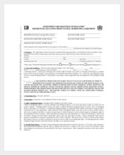 Example Exclusive Marketing Agreement Template