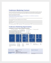 Example Conference Marketing Contract Template