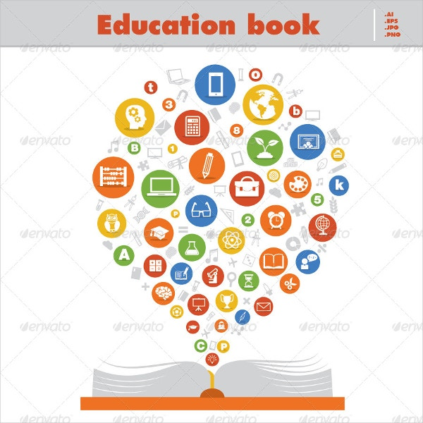 Education Book Icons