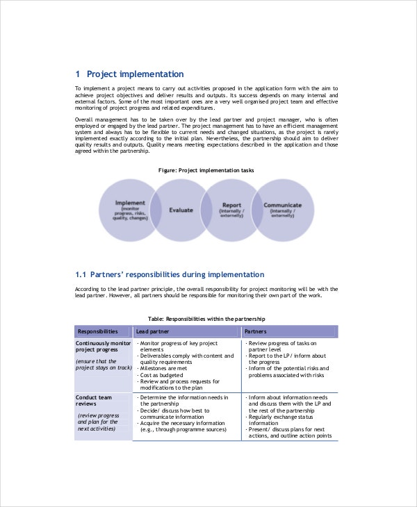 Project Evaluation Templates  Free Sample  Example  Format