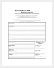 Example Marketing Piece Schedule Template