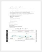 Marketing Roadmap Planner Sample Template