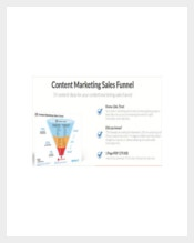 Example Content Marketing Sales Funnel Template
