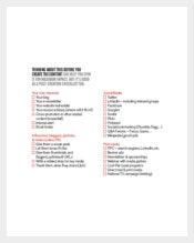Example Content Marketing Strategy Checklist Template