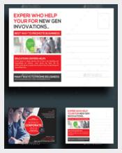 Corporate Marketing Business Postcards