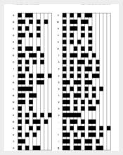 American Morse Code Template