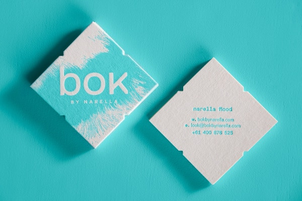BOK Portfolio Business Card Design
