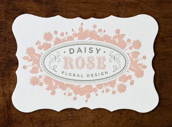 Daisy Rose Floral Card Design