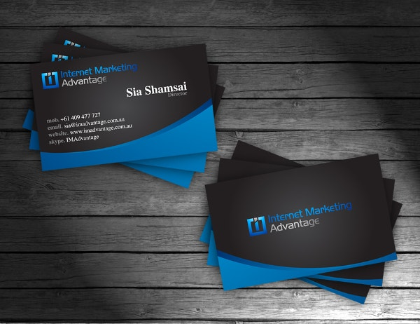 33 professional business card designs that will inspire you free ima business cards design accmission Gallery