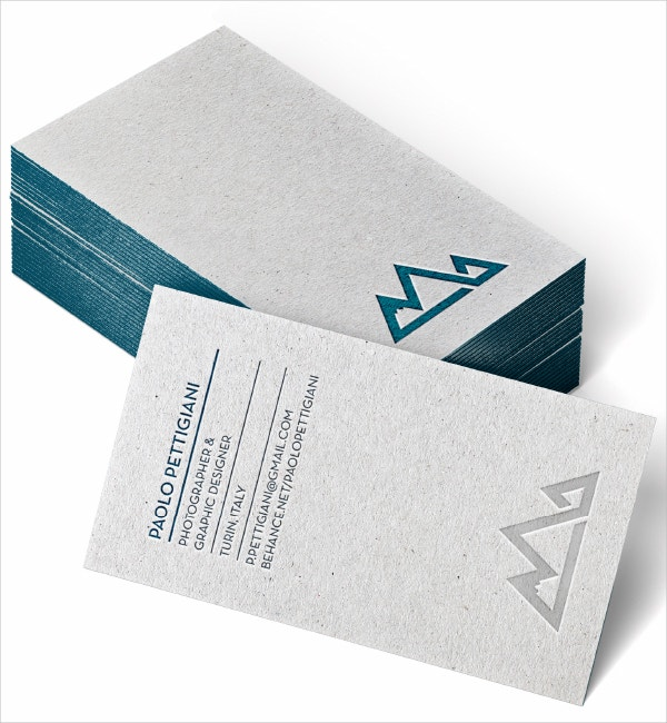 Personal Identity Business Cards Template