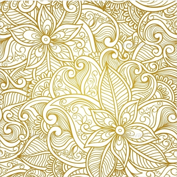 Vintage Floral Paisley Patterns