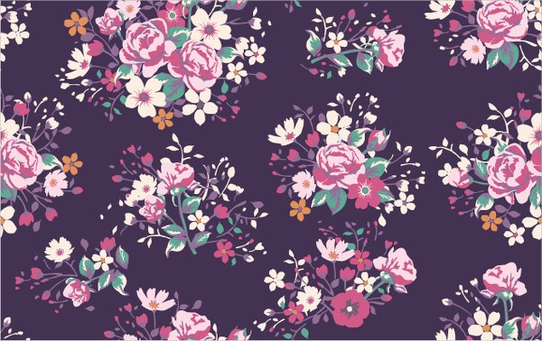 rose flower pattern