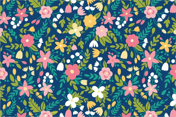 elegant seamless flower pattern