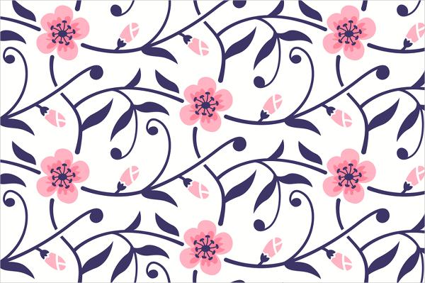 Blossom Flower Pattern