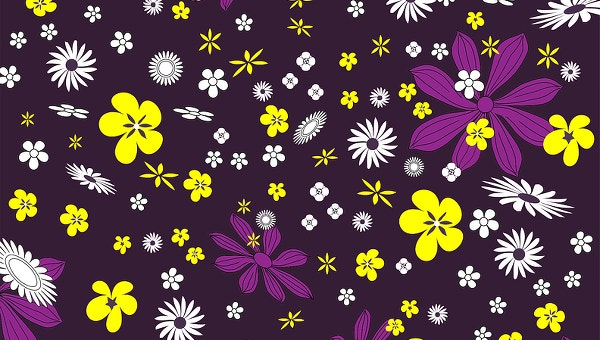 19 Flower Patterns Jpg Psd Vector Eps Ai Illustrator Free