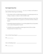 non compete agreement template 102 free word pdf documents download free premium templates. Black Bedroom Furniture Sets. Home Design Ideas
