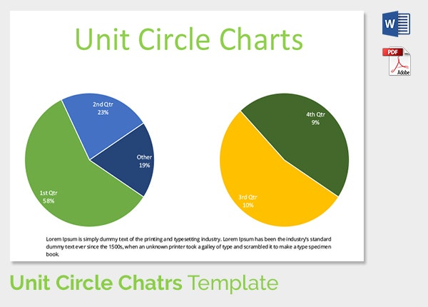 16 unit circle chart templates free sample example format unit circle chart template 4 ccuart Images