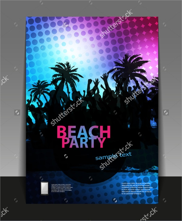 Rave Festival Flyer Template