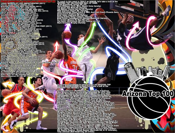 arizona basketball brochure