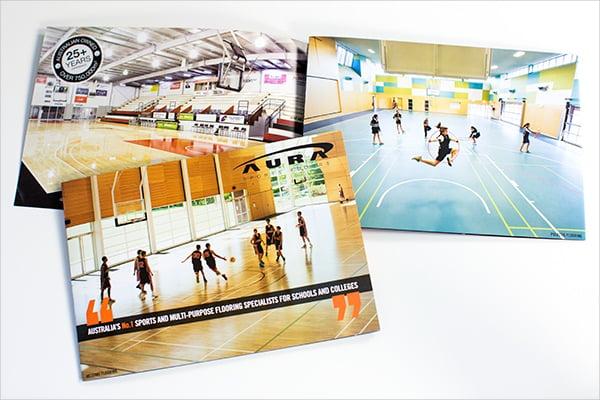 AURA Sports Basket Ball Brochure