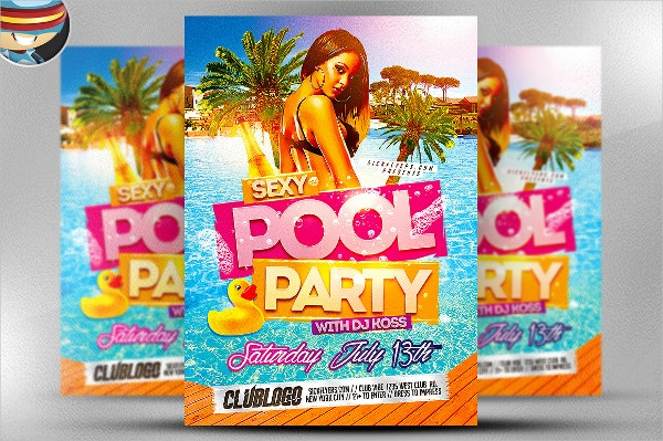16+ Pool Party Flyers - Free Psd, Ai, Eps Format Download | Free