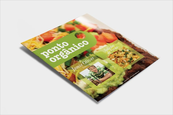 Organic and Healthy Food Brochure