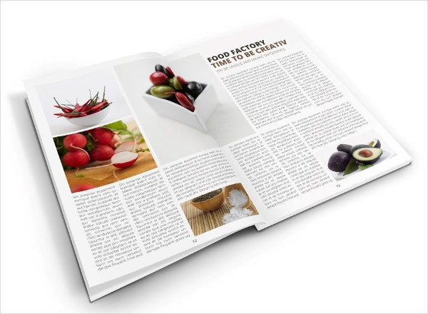 organic food factory brochure