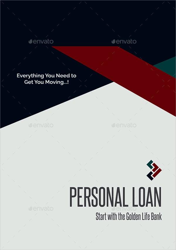 personal loan banking brochure