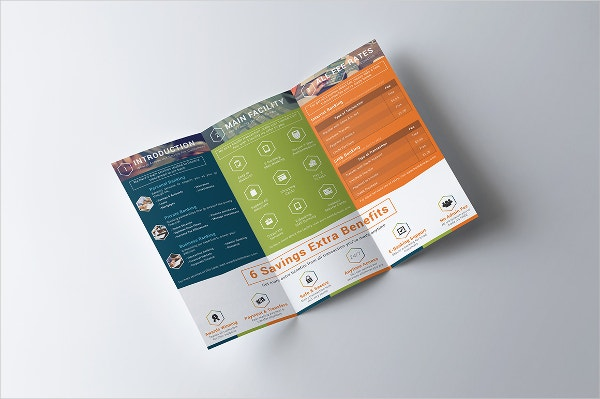 banking financial service brochure