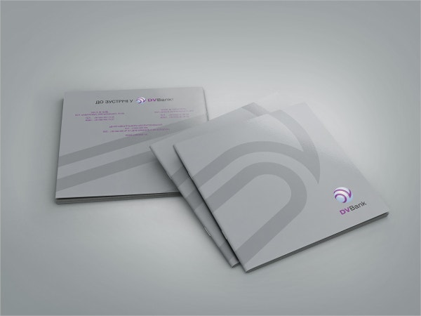 dv bank brochure template