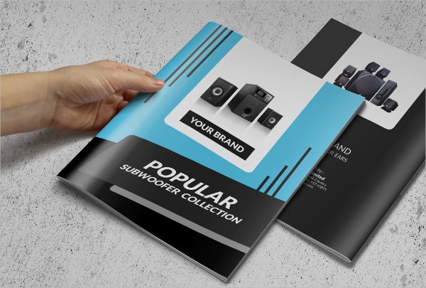 Electronic Sales Brochure