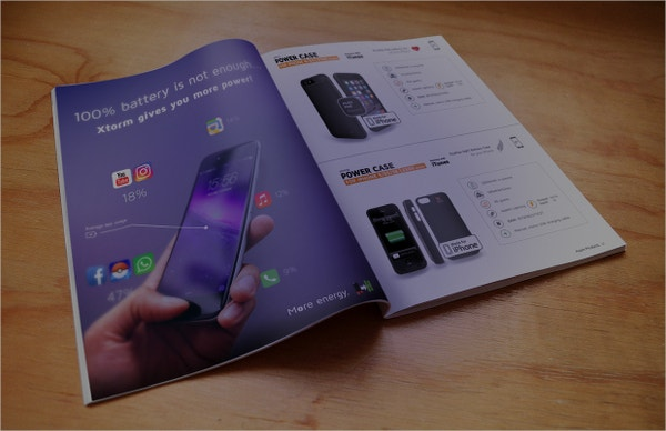 electronic power bank brochure
