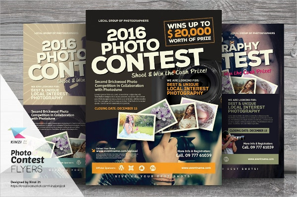 17 Contest Flyers Free PSD AI EPS Format Download – Competition Flyer Template