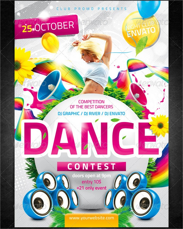 Dance Contest Flyer