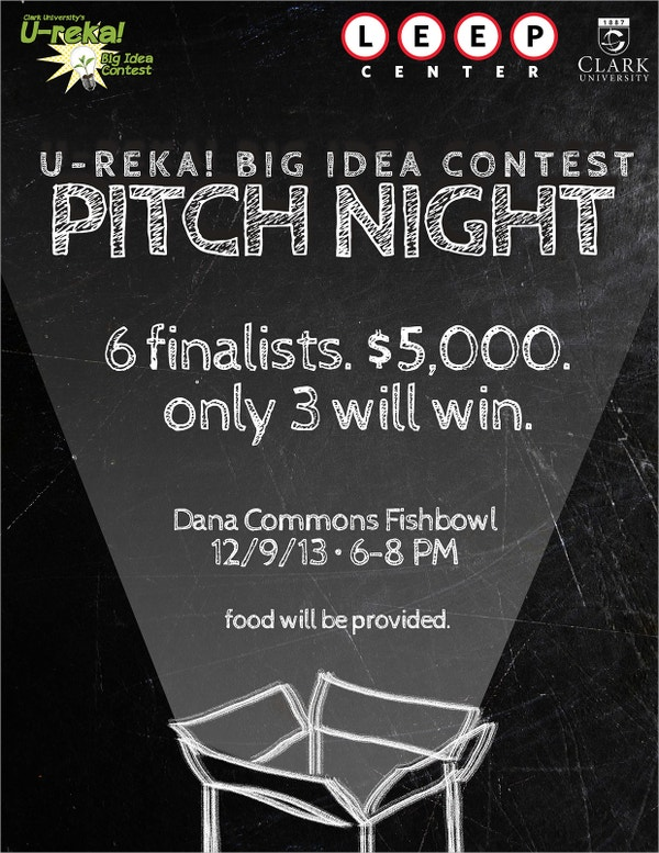 Ureka Big Idea Contest Flyer