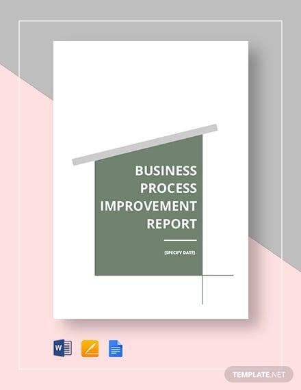 businees process improvement