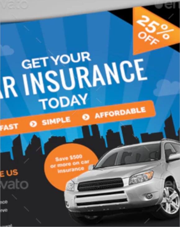 car insurance flyer