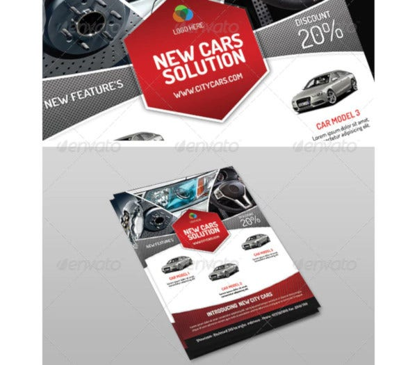 cars exhibition flyer1