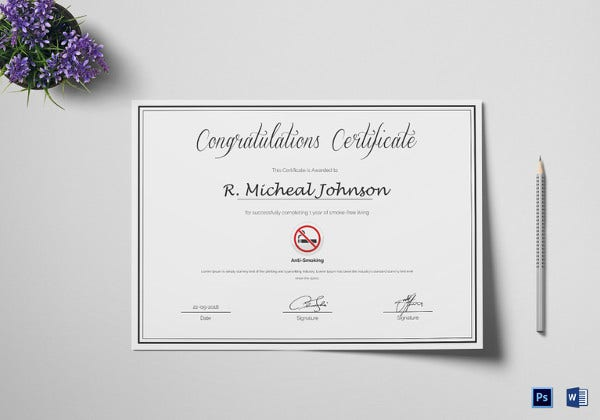certificate-of-congratulations-for-quitting-smoking