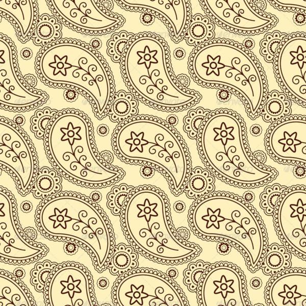 classic paisley pattern