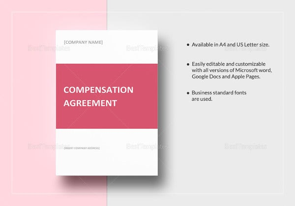 Compensation Plan Template   Free Word Document Downloads  Free